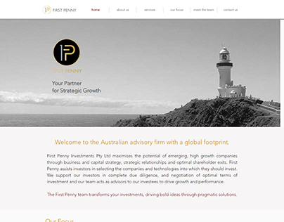 FirstPenny Investments Australia Website