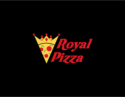 Royal pizza brand identity