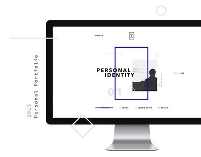 Personal Portfolio — Website