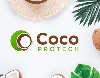 CocoProtech Logo | C P Letter logo