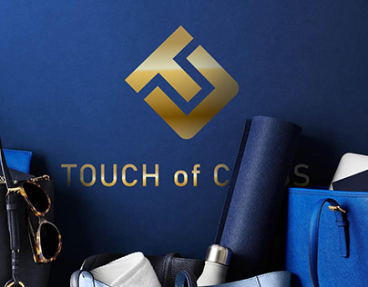 TOUCH of CLASS . Logo for online store.