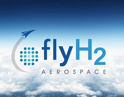 Branding and logo design for FlyH2 Aerospace