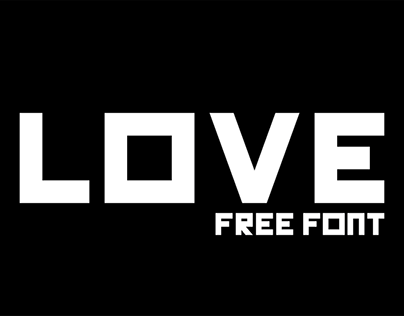 LOVE | FREE FONT