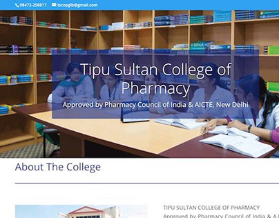 Tipusultan Pharmacy College site