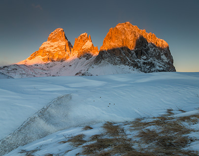 Dolomites. Winter
