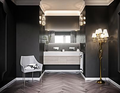 Tacchini Mayfair chair. Free parquet textures.