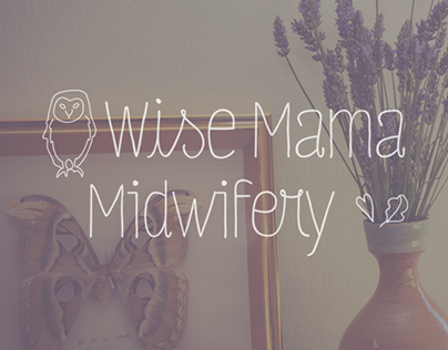 Wise Mama Midwifery Visual Identity & Website Design
