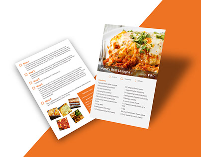 Recipe Card Free Template