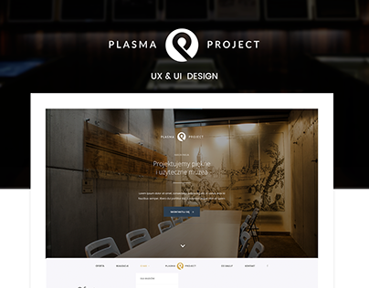 Plasma Project UX&UI Design