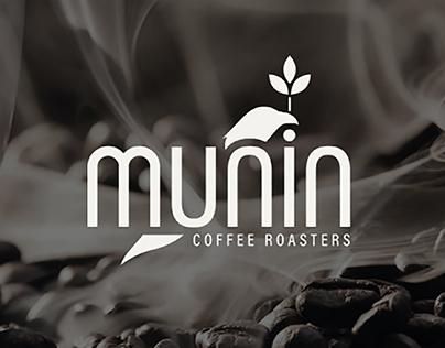 Logo Design Munin Coffee Roasters