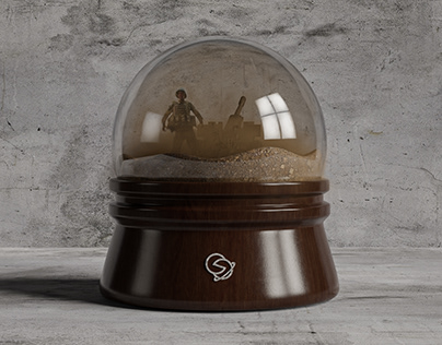 "3D Model - Globe of ""Vusal Sahkarimov"""