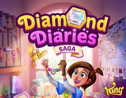 UI - Diamond Diaries Saga