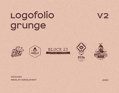 Logofolio grunge v2