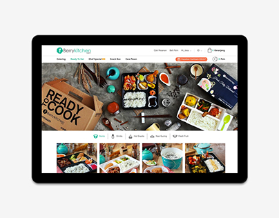 Berrykitchen · E-Commerce