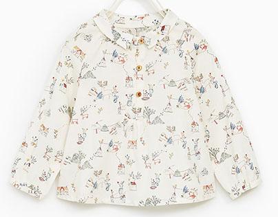 Print para Zara Baby Niña