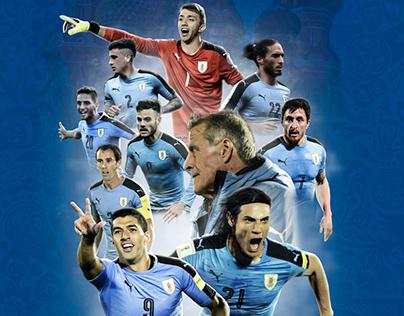 Seleccion Uruguaya - Rusia 2018