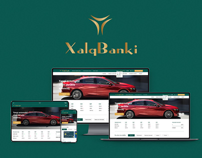 Xalq Banki UX/UI design