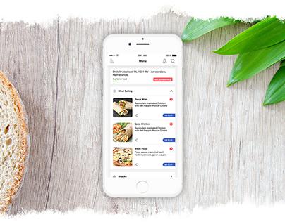 Fork Restaurant - Mobile App