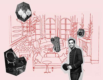 Radisson Hotel Illustration