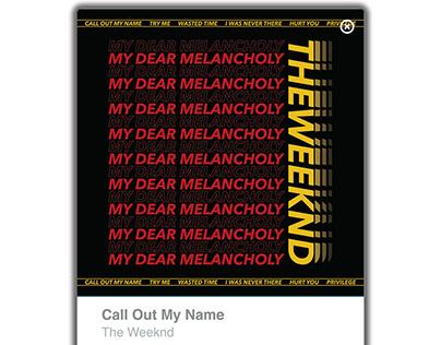 Typography Album Design