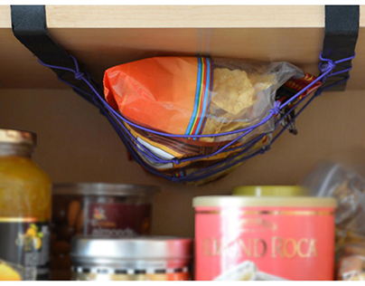 STRETCH: Organize your kitchen cabinet space