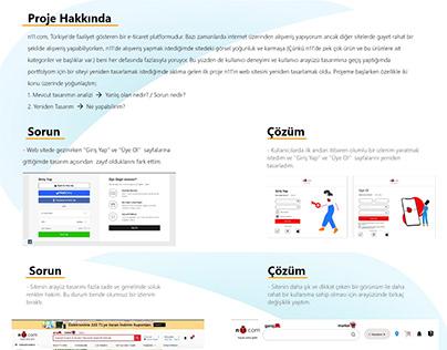 n11.com Yeniden Tasarım