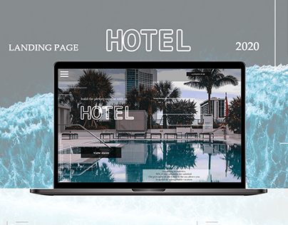 Hotel landing page