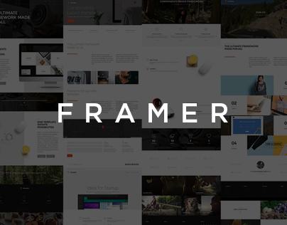 Framer - Component-Based Multi-Purpose Framework