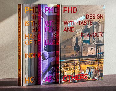 Серия из трех книг для бюро PHD