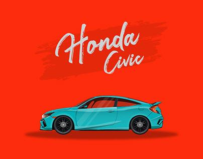 Vector Illustration Car