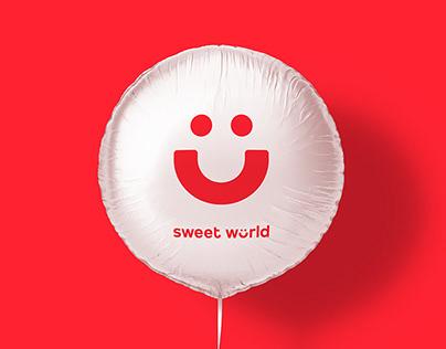 Sweet world Brand design