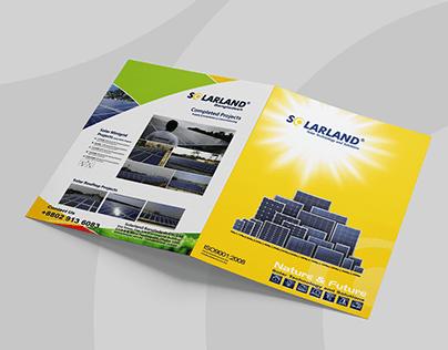 A4 Size Brochure Design. Corporate Profile Design, Logo