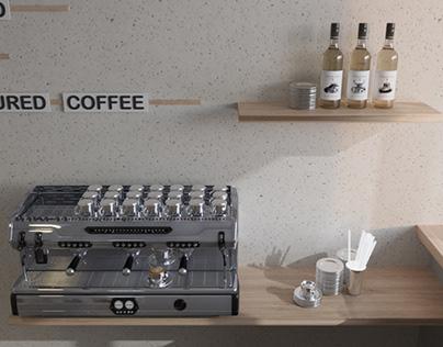 Кафе в скандинавском стиле