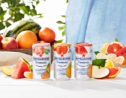 SANPELLEGRINO FANTASIA | Refreshing Fruit Drinks