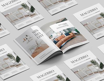 Magazine & Brochure - Mockup