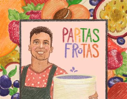 Papitas Frutas Wine Label