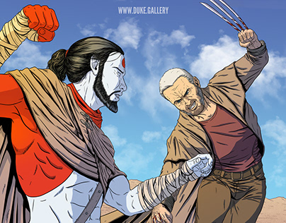 Rai vs. Old Man Logan