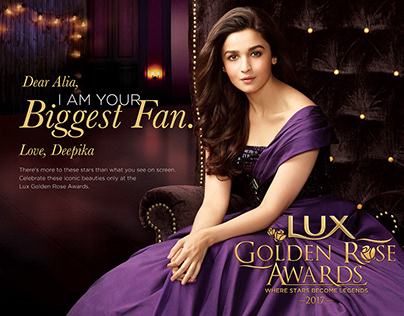 LUX - Lux Golden Rose Awards 2017 Print Campaign