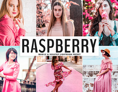 Free Raspberry Mobile & Desktop Lightroom Preset