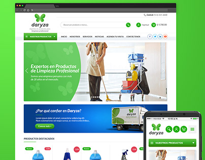 Web Design Daryza