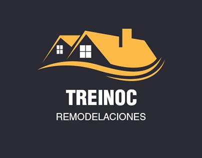 Diseño tarjetas de presentación Treinoc Remodelaciones