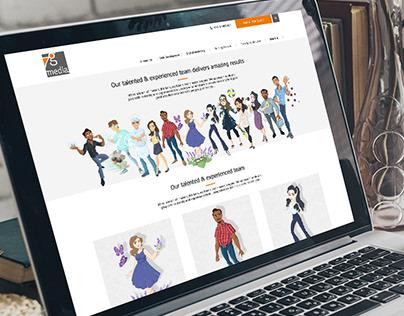 7G Media Team | Interactive Webpage