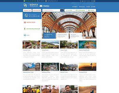 Dünya Değişmeden Web Design, UI-UX and SEO