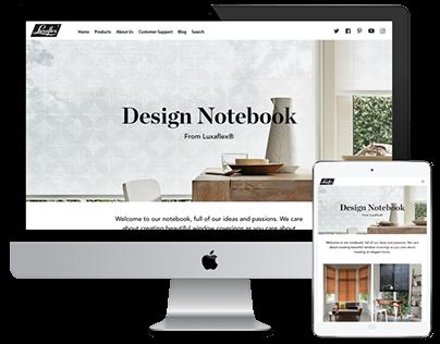 Luxaflex Design Notebook