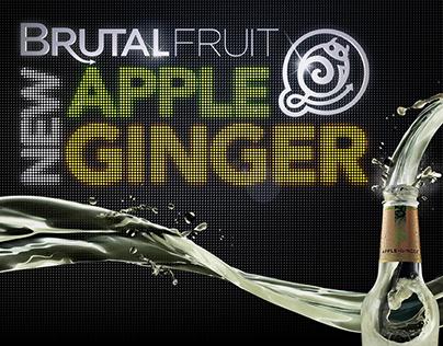 Brutal Fruit Apple Ginger Launch