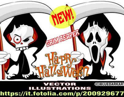 Grim Reapers Cartoon Characters