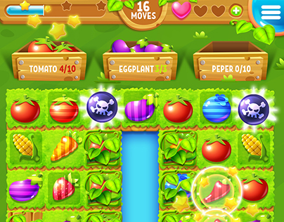 Farm Story Full Game Match-3 Pack with GUI Kit