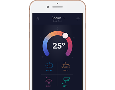 SmartHomeApp for iPhone SE