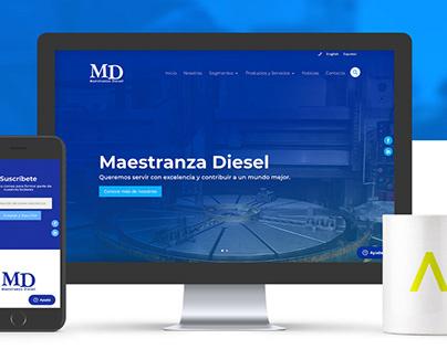 Maestranza Diesel UX/UI