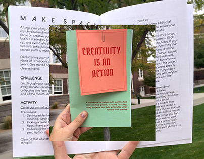 Creativity Is An Action Zine